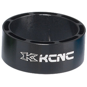 "KCNC Hollow Design Headset Spacer 1 1/8"" 3/5/10/14/20mm black"